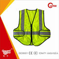Hi vis EN20471 reflective colorful safety vest with BSCI custom clothing