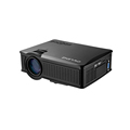 SD50 plus projector 1500 lumens HD mini LCD projector with USB SD and AV better than UC40/GM60