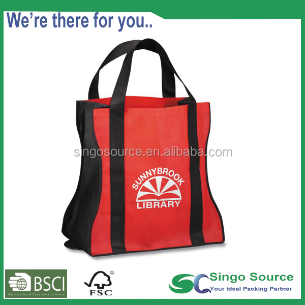 Reusable Shop N' Zip Foldable promotional tote bag