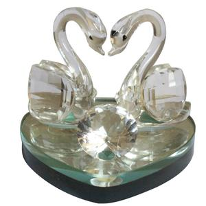 Promotional cheap crystal swan gifts on sale