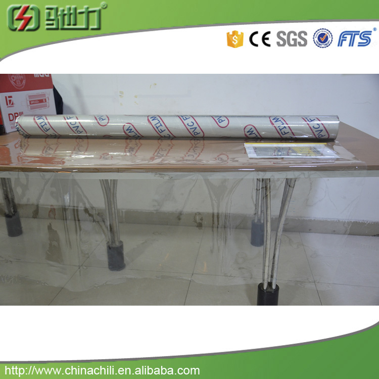 soft pvc film Super clear pvc film for table