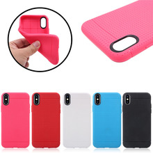 Factory Direct Selling Honeycomb Soft TPU Case for iPhone 8, 5 Colors Available