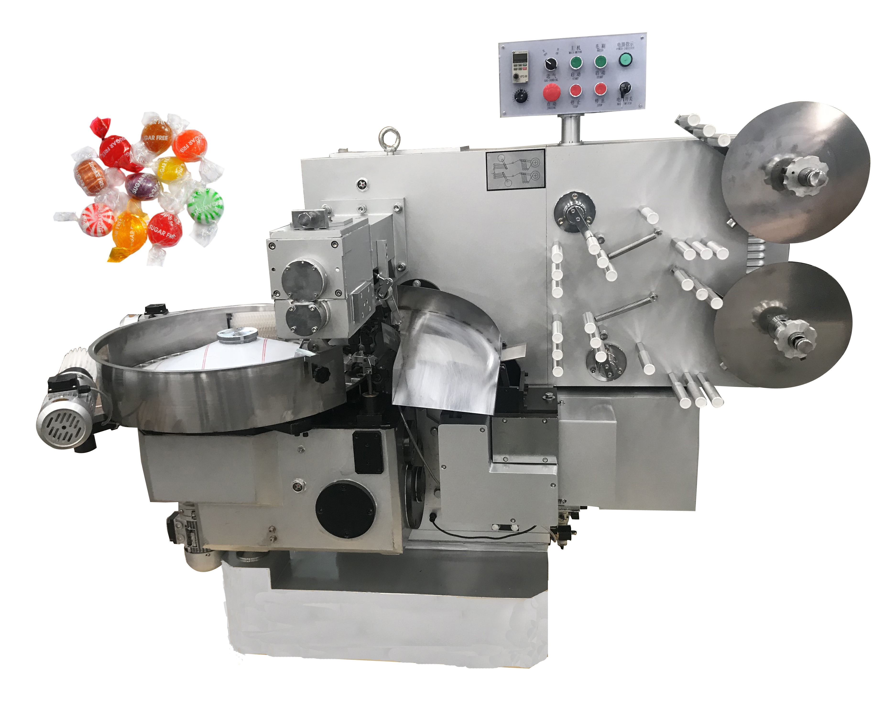 JB-600S Automatic Candy <strong>Roll</strong> Double Twist Wrapping <strong>Machine</strong>