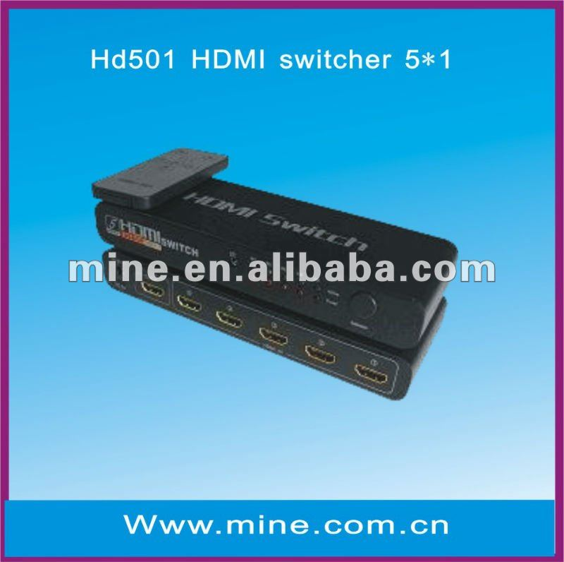 professional 5*1HDMI switch