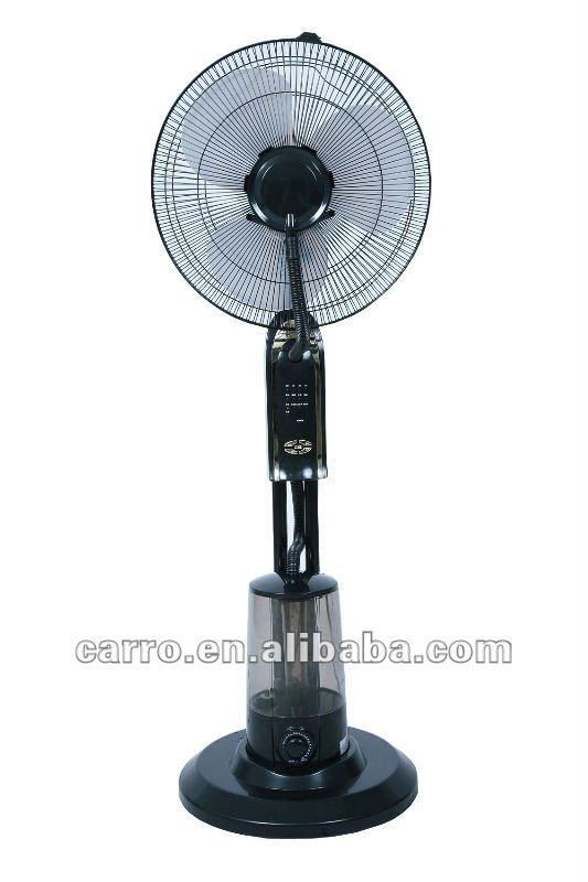 Summer cooling you water mist fan/standing misting fan with 10m remote control CE-1602