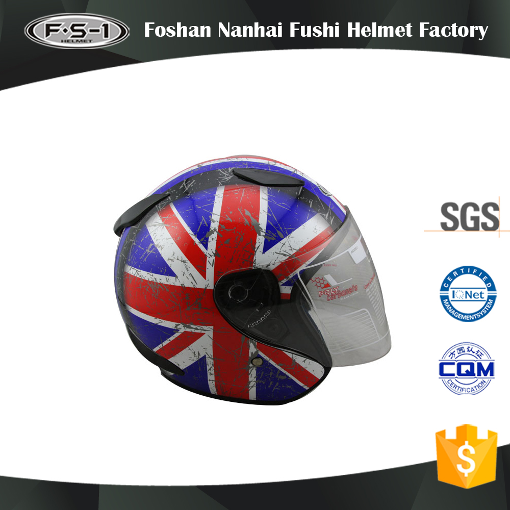 Customized Decals Motorbike helmet with BM2 full face motorcycle helmet bluetooth