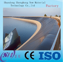 HDPE / LLDPE / LDPE / pvc geomembrane pond liner