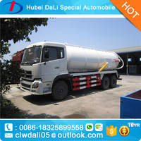 10000liter toilet sucker truck vacuum sewage suction truck