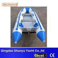CE foldable inflatable boat fishing boat for sale