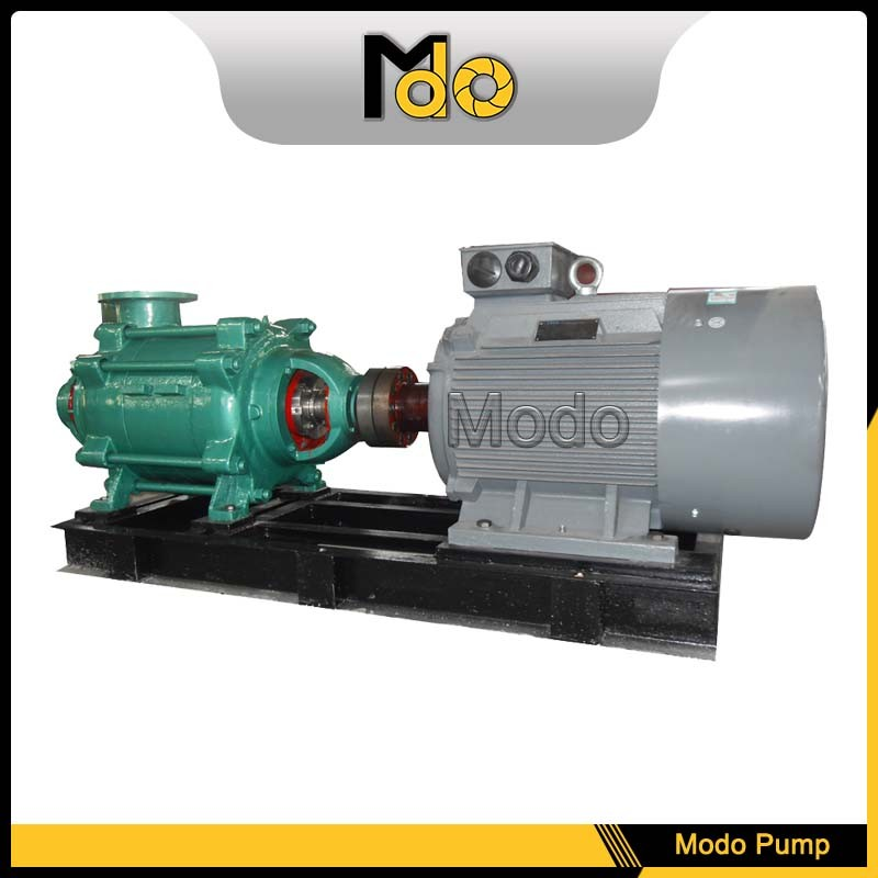 Skid mounted heavy crude oil pump