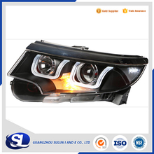 Car Styling for Ford Edge LED Headlight 2015-2016 New Edge LED Head Lamp Projector Bi Xenon Hid H7