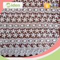 Water soluble daisy patterns lace fabric for curtains or hometextile