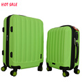 unique abs bags travel bags luggage hard trolley suitcase set