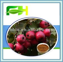 Natural Hawthorn Leaf Extract/Vitexin-2-0-rhamnoside 1.8% HPLC
