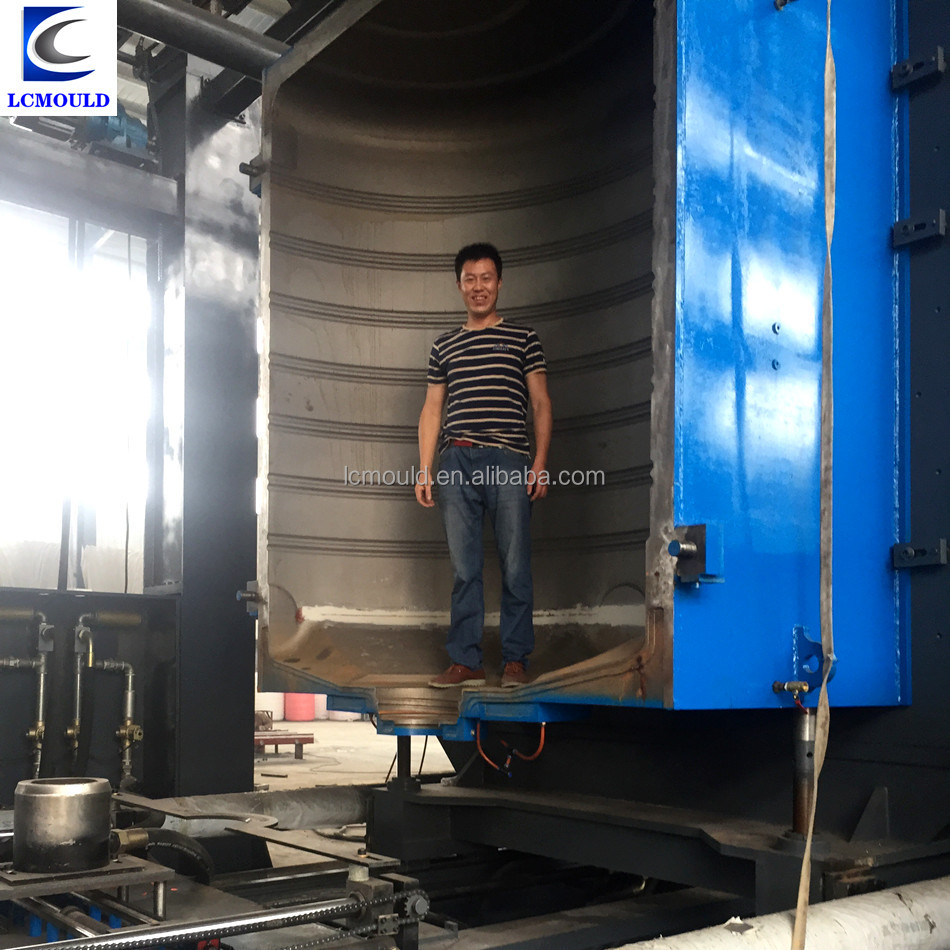5000liter blow molding machine