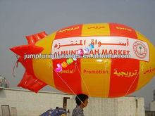 custom printing commercial Helium advertising balloon/inflatable blimp/airship