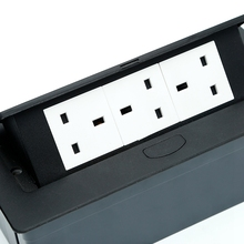 Multifunctional 2 USB desktop socket/multimedia socket box for conference table