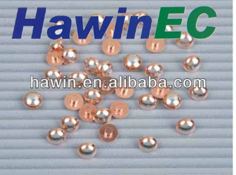 silver electrical contact and bimetal contact and silver rivet