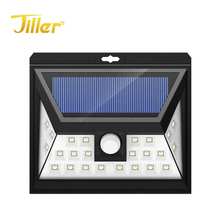 24 LED motion waterproof outdoor sensor solar light for garden