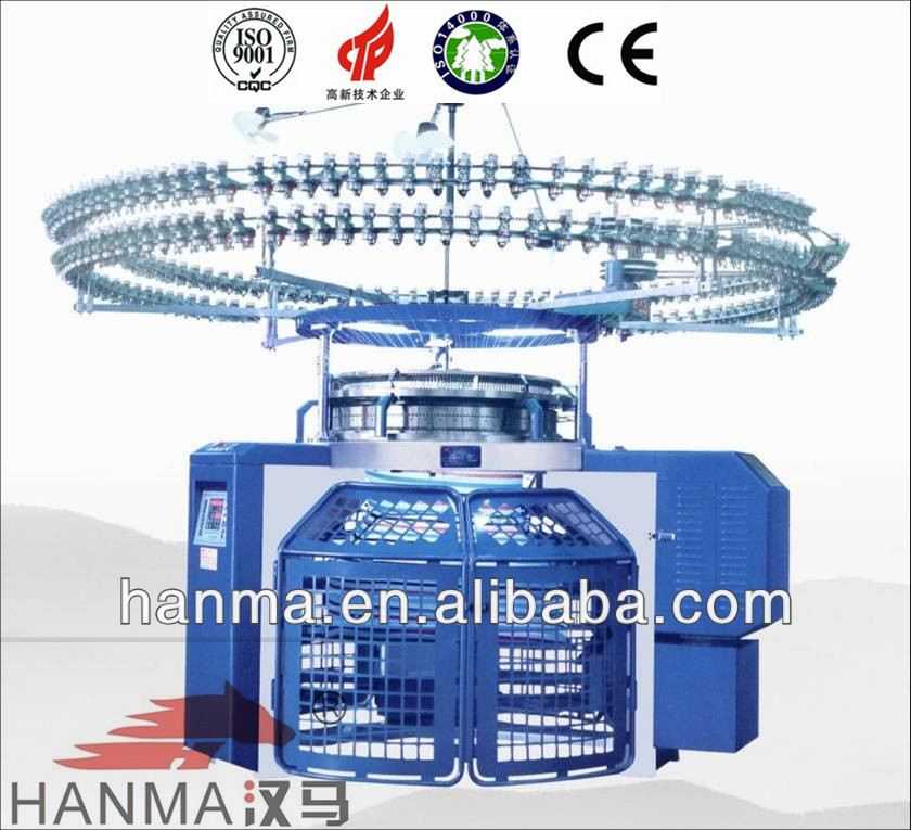 High Production New Design Single Circular Knitting Machine