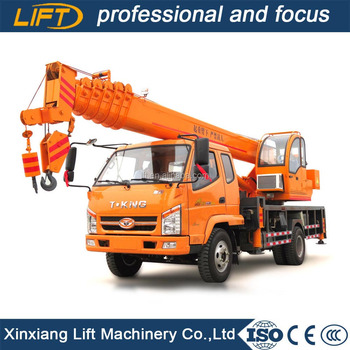 New hydraulic 10t crane truck with competitive price