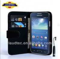 For Samsung Galaxy Express 2 G3815 Wallet Leather Case+Screen Protector+Stylus Pen