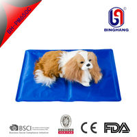 2016 China factory high quality reusable laptop gel cold pet seat/dog/cat pad/cool bed cushion/cooling pillow/car ice mat summer