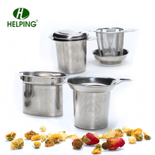 Fine holes stainless steel brew tea strainer