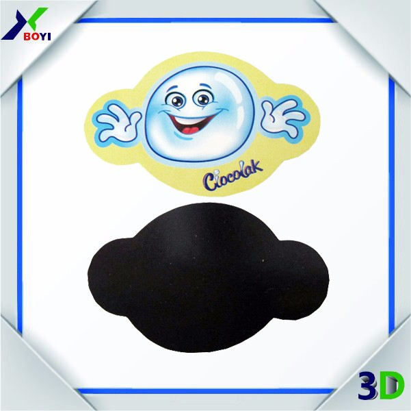 OEM cartoon Magnetic Business Card Promotional Paper/ Soft Pvc tourist souvenir Fridge Magnet