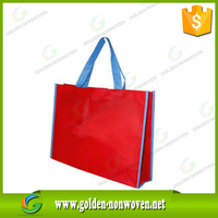 Bopp Glossy PP Shopping Tote Bag Laminated Non Woven Bag/100% Polypropylene Image Printed Cheap Non Woven Bags