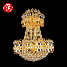 Factory direct sale top grade chinese crystal empire style chandelier pendant lighting