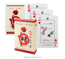 Factory sale different styles laminated playing card