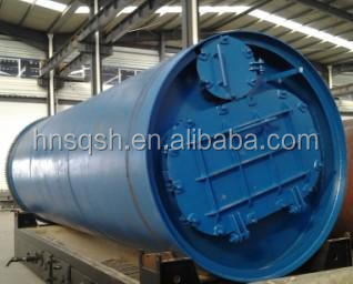Green project no pollution automatic rubber / tyre oil production line