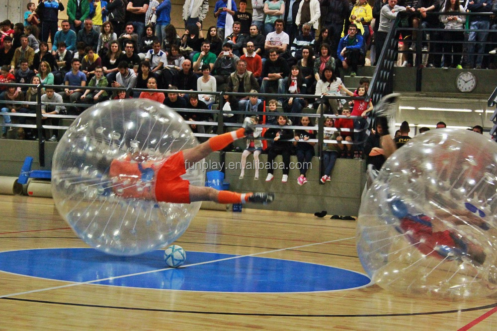 For sale!! 1.2m customized 1.0mm pvc material bumper ball bubble soccer for <strong>game</strong>
