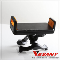 Professional Design Adjustable 360 Degree Rotating Black Universal Air Vent Car Holder For Ipad