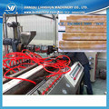 Faux marble profiling manufacturing equipment/ environmental faux marble profiles machine