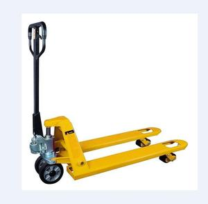 High Quality Load Capacity 5000 kg 3 Ton Hand Pallet Truck