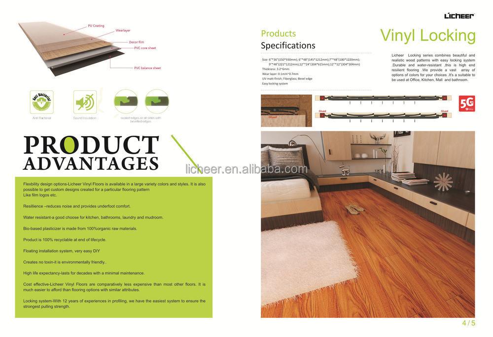 Earthscapes Vinyl Flooring 100 Waterproof Plastic Floors