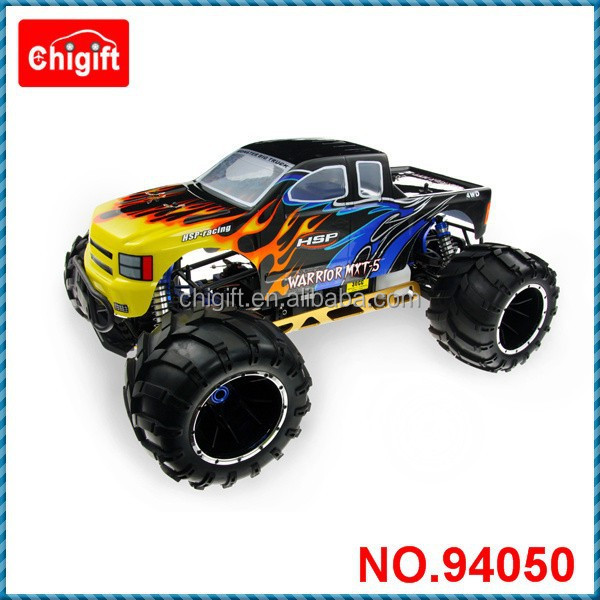 HSP Skeleton 94050 1:5 Gas Power RC Monster Truck RTR 4WD 30CC engine