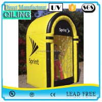 good quality booth cash cube inflatable money grab machines for sale