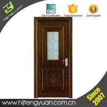 China Made Decorative Internal Interior Finished Small Wood Doors