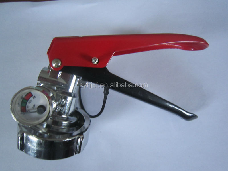 Egyptian dry powder fire extinguisher valve