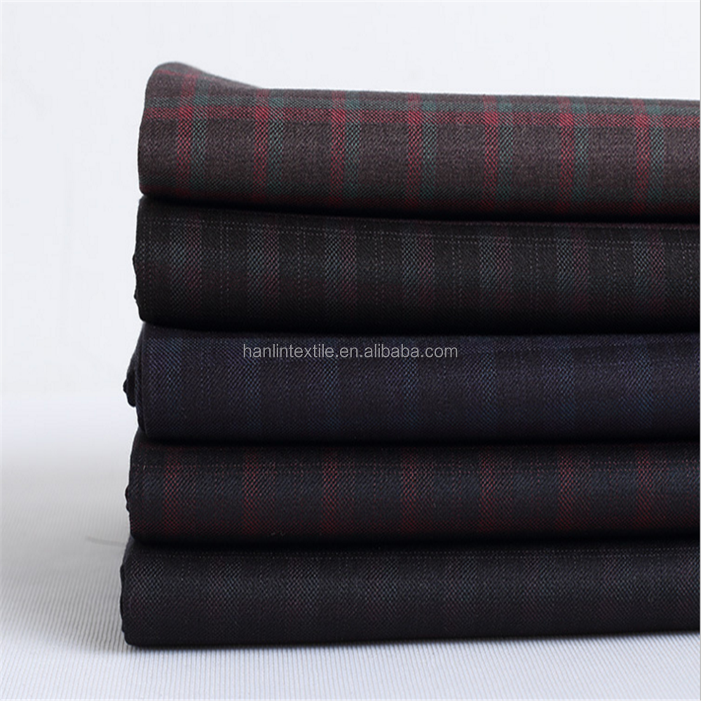 Factory Price Polyester Rayon Spandex tr suiting fabric collection womens and mens suiting