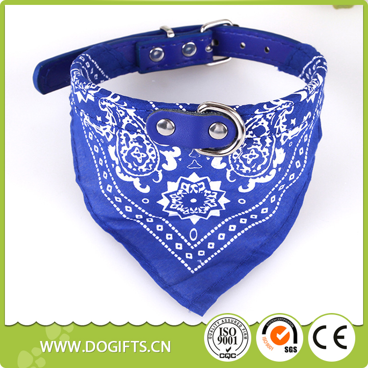 Hot Sales Highly Quality Visible Pet Safety Reflective Dog Scarf collar Dogift007103