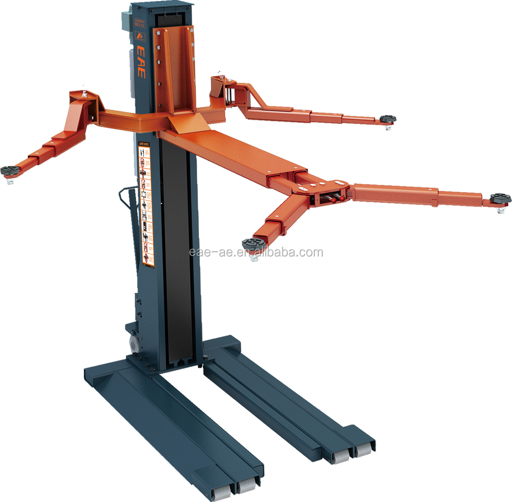 EE-612E single post car lift with CE