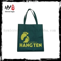 Hot selling grocery shopping bag, violet non woven shopping bag, pp laminated non-woven bags with low price