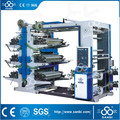 High Speed Six Colors Flexo Printing Machine