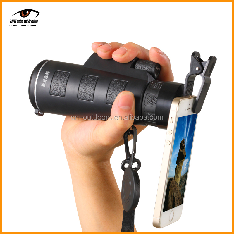 Portable Mobile Phone Monocular 10x40 Small Telescope