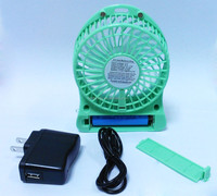 Best selling portable lithium battery fan battery power cooling handheld 3 rechargeable fan