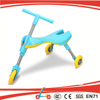 New design baby walker kids push toy scooter scuttle bug scooter